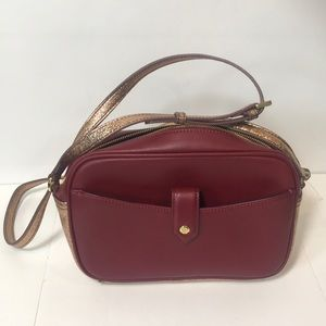 Gili Leather Cross-Body Bag NWOT